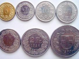 Perku Šveicarijos frankus