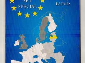 Dėkliukas Latvijos Euro monetų rinkiniui