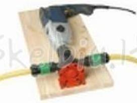 Mechaninis siurblys montuojamas ant drėlės