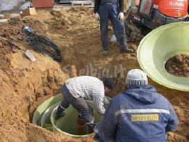 Vandens tiekimo sistemos, garantijos, prieziura.