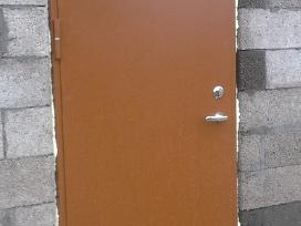 Metalinės Šarvo Lauko Durys