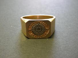 Perku Lietuvos karo akademijos baigimo žiedus