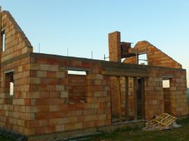 Muro darbai - kaminu restauravimas