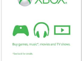 Xbox 360 / Xbox One Live Gold, Gift Card