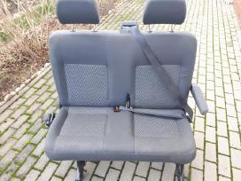 Vw T5 sėdynės dvivietė