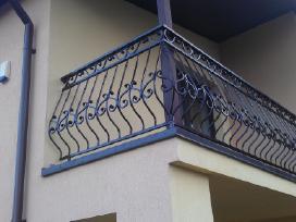 Metaliniai turėklai, laiptai, kalvystės darbai