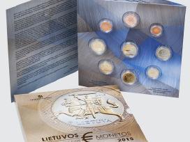 Oficialus Lietuvos Euro monetu rinkiniai