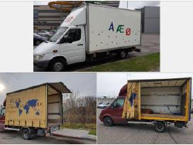 Krovinių pervežimo,perkraustymo paslaugos
