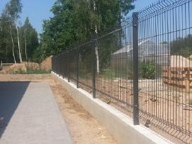 Tvoros segmentas ir montavimas