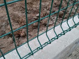 Tvoros segmentas ir montavimas - nuotraukos Nr. 3