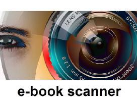 Skeneris - stendas senų knygų skaitmenizavimui