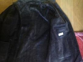 Odinis paltukas su netikru kailiu