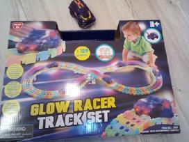 Glow Racer track set - naudotas