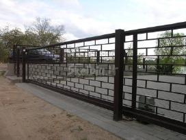 Tvorų, vartų prekyba ir montavimas