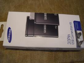 Samsung Tab usb 30 pin adapteris ir stovas