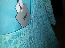 Asos mėtinė gipiūrinė suknelė