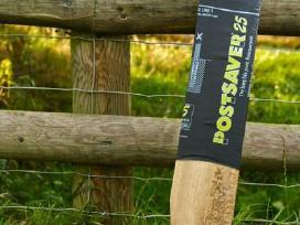 Medinių tvoros kuolų apsauga Postsaver-akcija