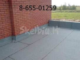 Bituminių prilydomų stogų dengimas - nuotraukos Nr. 5