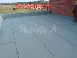Bituminių prilydomų stogų dengimas - nuotraukos Nr. 6