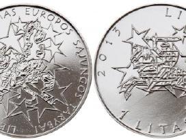 1 lito moneta, Lietuvos Pirmininkavimui Es Tarybai