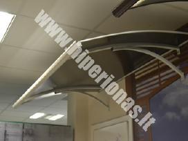 Apsauginiai stogeliai įejimo durims vilniuje - nuotraukos Nr. 6