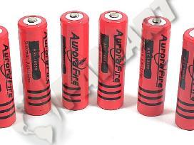 Ultra Fire akumuliatoriai 5800mah ir priedai 18650
