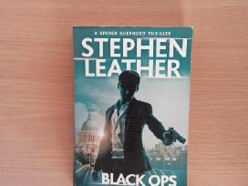 "Knygą""black Ops""stephen Leather, 2016m."