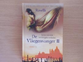 "Knygą""de Vliegenvanger""ravelli, 2015m.romanas"