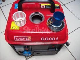 Benzininiai generatoriai 220v 400v