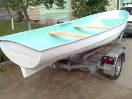 Didelė plastikinė valtis, dalinai dviguba - nuotraukos Nr. 6