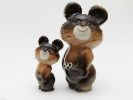 Perku senas porcelianines figurėles, statulėles