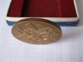 Atminimo medalis- originalioje pakuoteje.zr. fot - nuotraukos Nr. 7