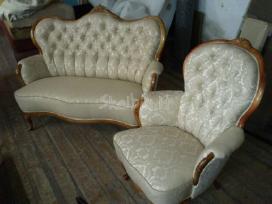 Minkstu baldu restauravimas - nuotraukos Nr. 3