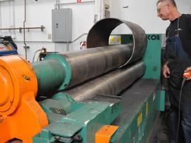 Valcavimo paslaugos nestandartiniai metalo gaminia