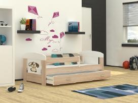 Naujos lovytės vaikams su stalčiais nuo 105eur