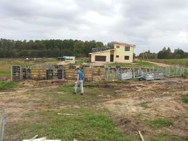 Pamatai,tvoros ir visi betonavimo darbai. Cfa. - nuotraukos Nr. 5