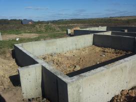 Pamatai,tvoros ir visi betonavimo darbai. Cfa. - nuotraukos Nr. 6