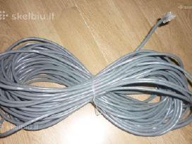 16m lan kabelis su Rj45 antgaliais.