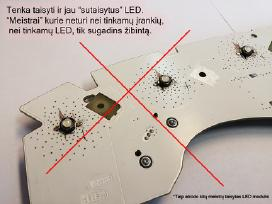 LED remontas