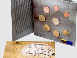 2015 m. laidos apyvartinių monetų rinkinys (proof)