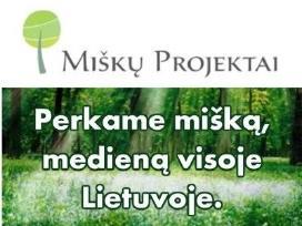 """""""miškų projektai"""" Perka Mišką"""