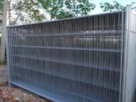 Statybinė tvora, laikinas aptvėrimas, mobili tvora