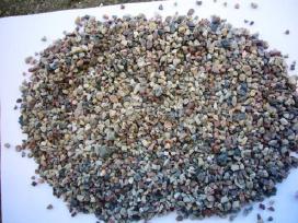 Dolomito skalda, smėlis, žvyras..