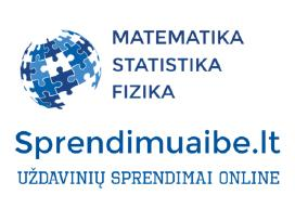 Matematika, Fizika, Statistika: sprendimai online