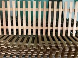 Apsauginė Medinė Tvorelė radiatorių uždengimui