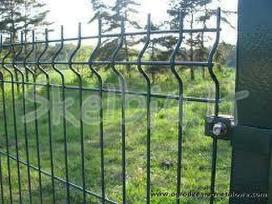 Tvoros, vartai, varteliai, stulpialiai, groteliai. - nuotraukos Nr. 4