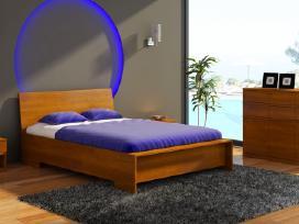 Skandinavisko dizaino medine lova Vaxjo