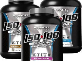 Akcija Dymatize Iso 100 2.3kg Tik 200lt - 57eurai