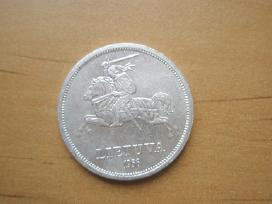 5 litai 1936 metu Basanavicius