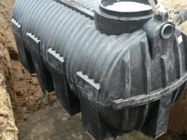 Valymo Įrenginiai Talpos,drenažai- Įrengiame